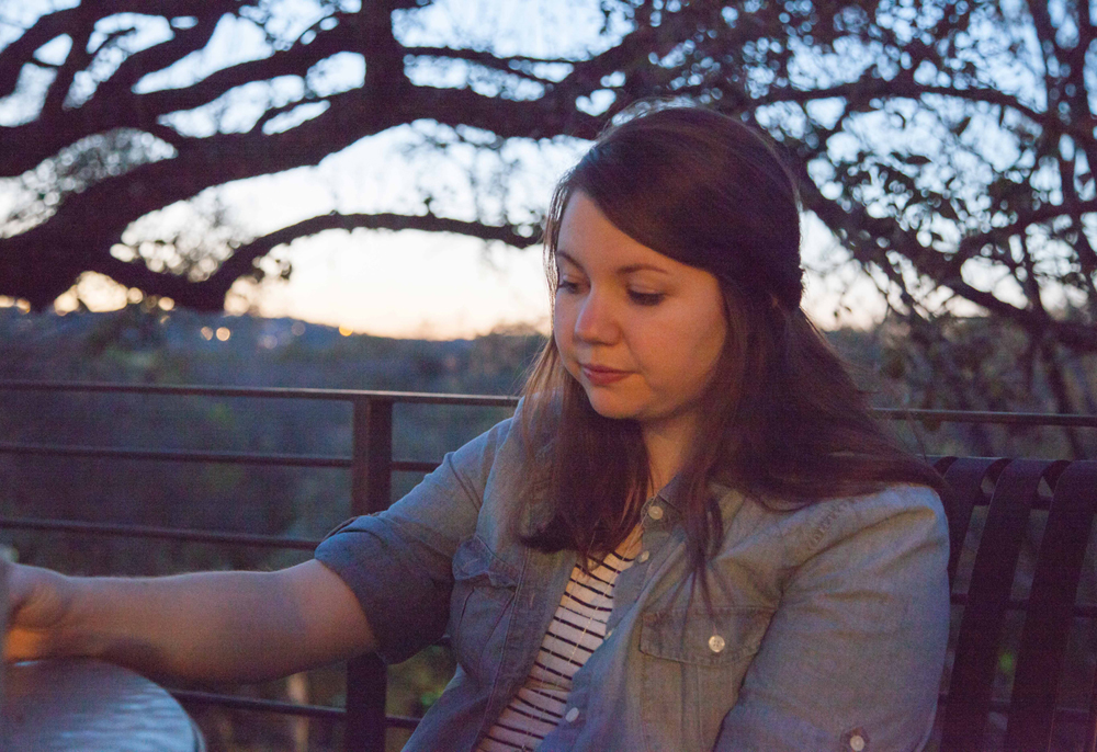 Allison Cosby, WRCT General Manager and former Pillbox editor enjoys some balcony time in Austin.