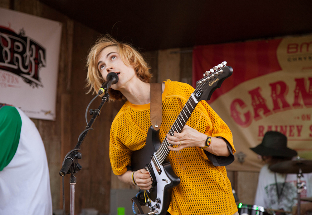 DIIV plays at the Blackheart Bar on Rainey Street.