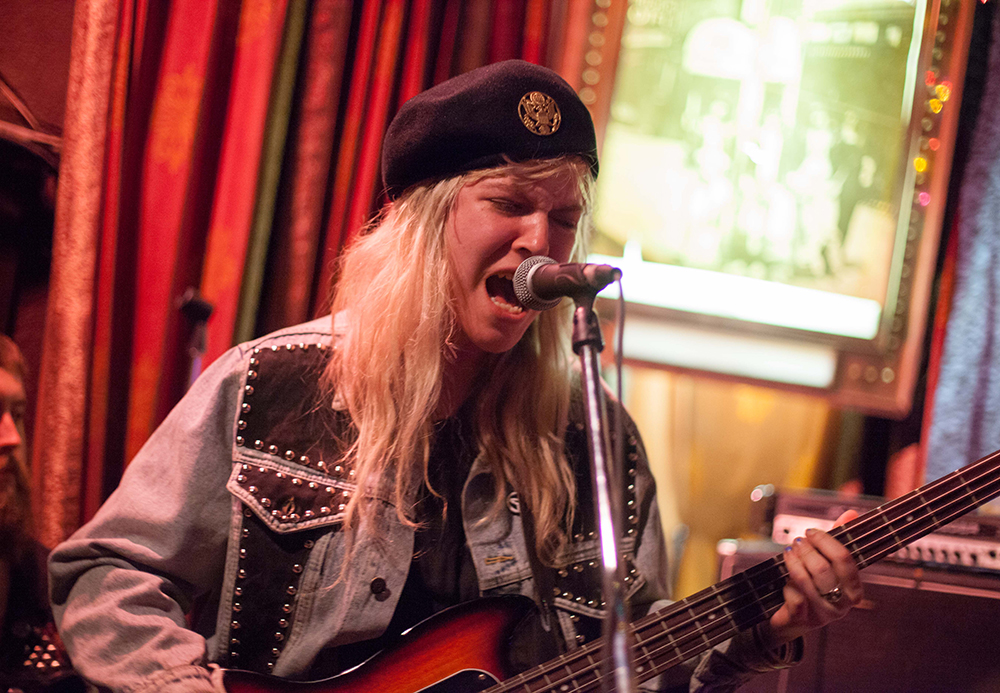 Nu Sensae adds a little high energy noise punk to the line-up at the Longbranch Inn.